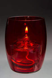 protected flame candles bilbao red oil