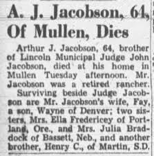 Arthur Jacobson obituary - Newspapers.com