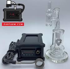 quartz enail kit c2 glass dabbing rig