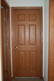 manchester oak 6 panel woodgrain door