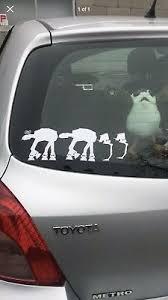 At At St Family Car Decal Star Wars Vinyl Sticker Bumper Ebay