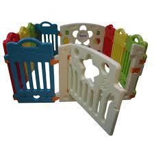 Babygro Playfence Playpen Play Yard Safety Rail 8 2 Panels Lazada Ph