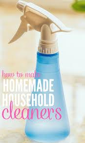 diy cleaners using household ings