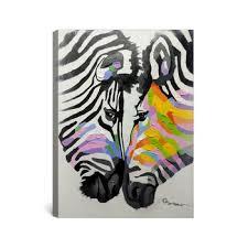 Wholesale Animal Zebra Pop Art Oil Paintings On Canvas For Kids Room Buy Pop Art Painting Animal Pop Art Paintings Painting For Kids Room Product On Alibaba Com