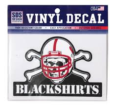 Blackshirts Static Cling