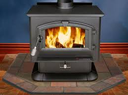 walls when heating with a wood stove