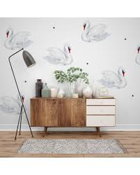 Perfect Swan Wall Decal Baby Child Order Online Paper11