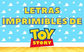 Alfabeto Toy Story Imprimible Gratis Party Pop