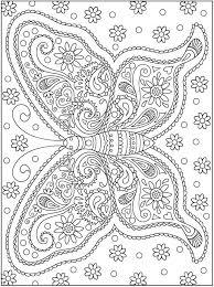 Vlinder Kleurplaten Mandala Kleurplaten Adult Coloring Pages