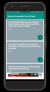 kata kata r tis dilan for android apk