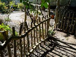 Rustic Garden Fence Ideas The Great Rustic Garden Ideas Induced Info