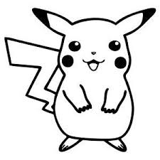 Pikachu Pokemon Anime Decal Sticker Pokemon Decal Anime Decals Pokemon Coloring Pages
