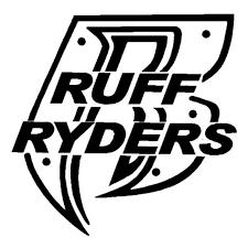 Ruff Ryders R Logo 3 Vinyl Decal Sticker