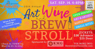 downtown vacaville holding art wine