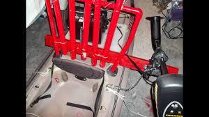 homemade kayak trolling motor mount