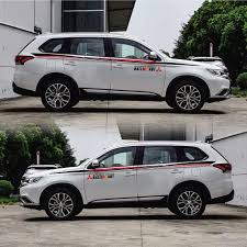 2020 Taiyao Car Styling Sport Car Sticker For Mitsubishi Outlander Ex Pajero Outlander Zinger Eclipse From Suozhi1997 49 22 Dhgate Com