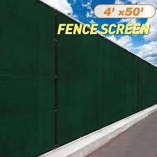 Buy 6x12 Dark Green Fence Privacy Screen Windscreen Cover Shade Cloth Mesh Yard Garden In Cheap Price On Alibaba Com