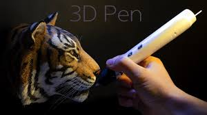 3D pen] 호랑이 만들기. Making a tiger ...