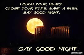 ucapan selamat malam untuk sahabat