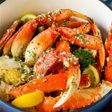 Crab Legs with Garlic Butter - Dinner ...