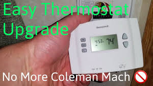 coleman mach rv thermostat upgrade for
