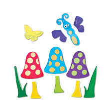 Zoomie Kids Gelgems Bag Small Mshrms Butterflies Window Decal Wayfair
