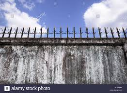 Fence Metal Spikes High Resolution Stock Photography And Images Alamy