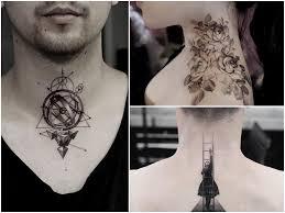 Tatuaz Na Szyi 26 Inspirujacych Projektow Na Tatuaz Etatuator Pl
