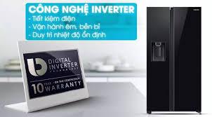 Tủ lạnh Samsung Inverter 617 lít RS64R53012C/SV Mẫu 2019, thiết kế mặt gương  mờ sang trọng,ngăn lấy nước ngoài,chức năng làm đá tự động - Bảo hành 24  tháng