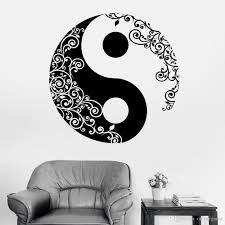 Mandala Wall Sticker Home Decal Buddha Yin Yang Floral Yoga Meditation Vinyl Decal Wall Art Mural Home Decor Decoration Large Wall Decal Large Wall Decals From Onlinegame 12 66 Dhgate Com