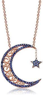 kokana sterling silver crescent moon