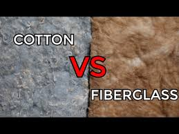 cotton denim vs fiberglass insulation