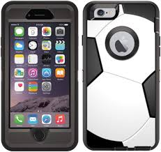 Amazon Com Teleskins Protective Designer Vinyl Skin Decals Stickers Compatible With Otterbox Defender Iphone 6 Iphone 6s Case Soccer Design Patterns Only Skins And Not Case
