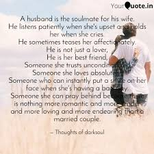 a husband is the soulmate quotes writings by dark soul