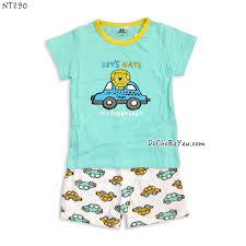 Đồ bộ thun mặc nhà cho bé trai – DoChoBeYeu.com