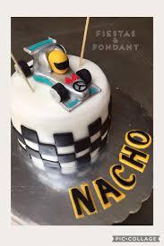 Mercedes Benz F1 Racing Car Cake By Fiestas Fondant