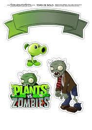 Pin De Mariana Pq En Ian Cumple 6 Plantas Vs Zombies Personajes