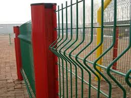 3d Welded Wire Fence With V Beams Is More Firm And Attractive