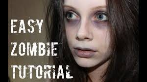 easy zombie makeup tutorial you