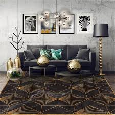 carpet bedroom area rugs modern gold