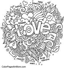 Doodle Love Colouring Kleurplaten Mandala Kleurplaten Kleurboek