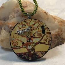 tree of life erfly pendant necklace