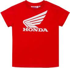 gp racing honda hrc wing kids t shirt