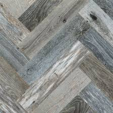 gray herringbone wood wall paneling
