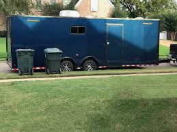 cargo trailer diy toy hauler moto