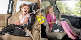 high back or backless booster seat