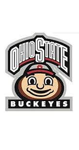Amazon Com 3 Inch Brutus Osu Ohio State University Buckeyes Removable Wall Decal Sticker Art Ncaa Home Decor 3 Inches Wide By 3 1 2 Inches Tall Baby