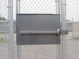 Standard Panic Exit Bar Kit For Chain Link Pedestrian Gate Dac 6030 Gate Design Chain Link Fence Gate Chain Link Fence