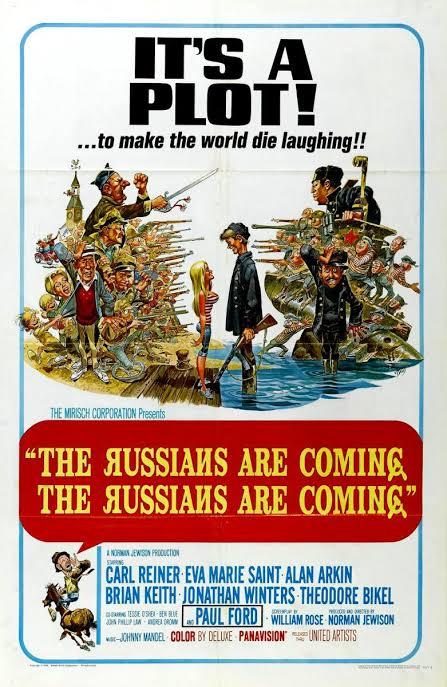 """Resultado de imagen para the russians are coming movie 1966"""""""