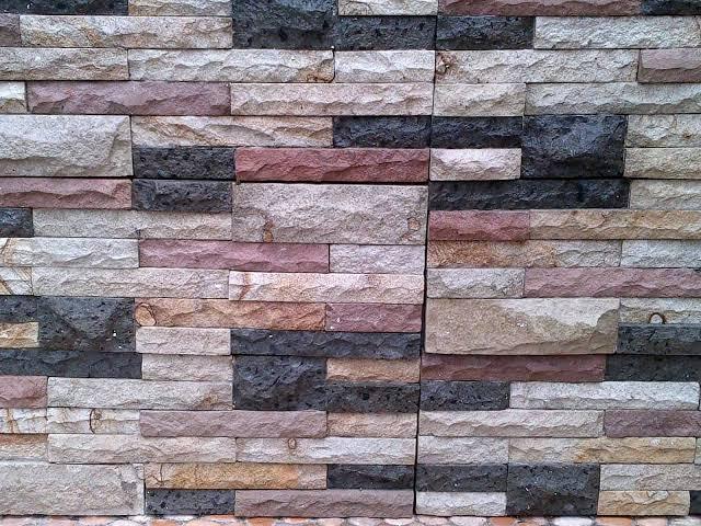 Batu alam untuk carport